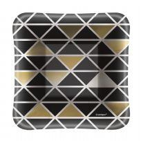 "Chic Party Square 5"" Appetiser Plates (8)"